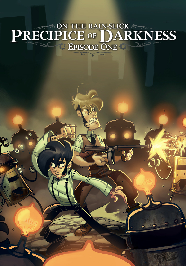 Penny Arcade's On the Rain-Slick Precipice of Darkness 1