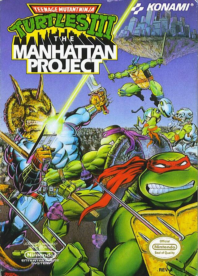 Teenage Mutant Ninja Turtles: The Manhattan Project