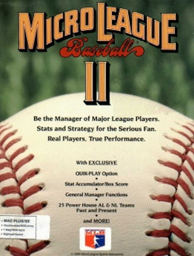 MicroLeague Baseball II