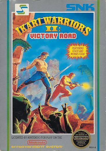 Ikari Warriors II — Victory Road