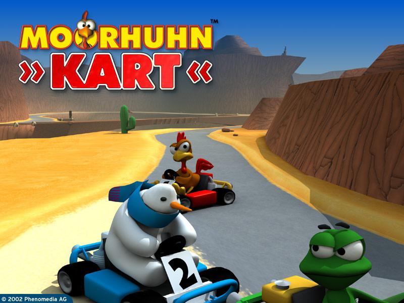 Игру Moorhuhn Kart