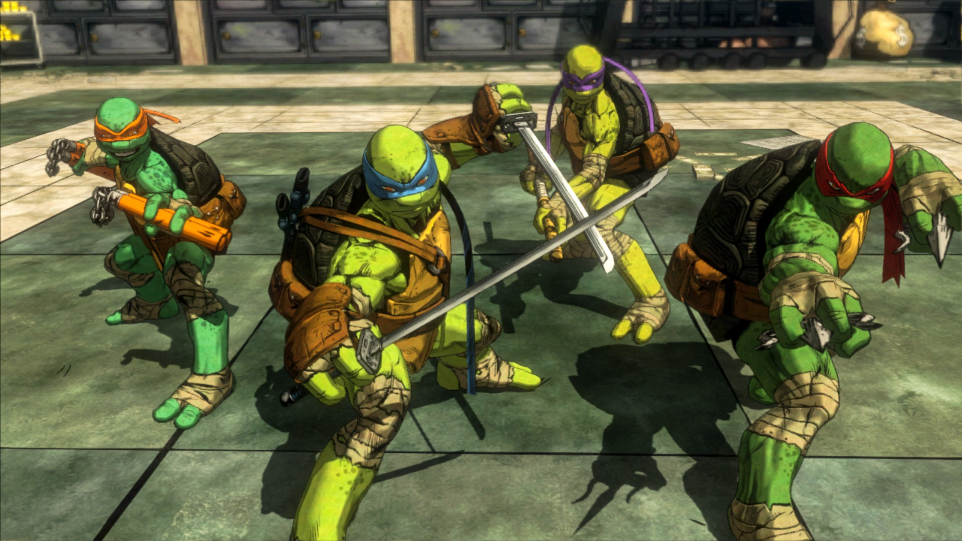Teenage Mutant Ninja Turtles Episodes  TMNT Games