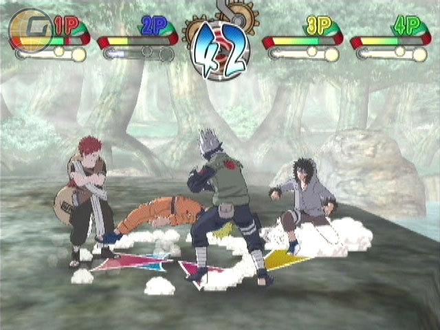Naruto: clash of ninja revolution - european version wii games