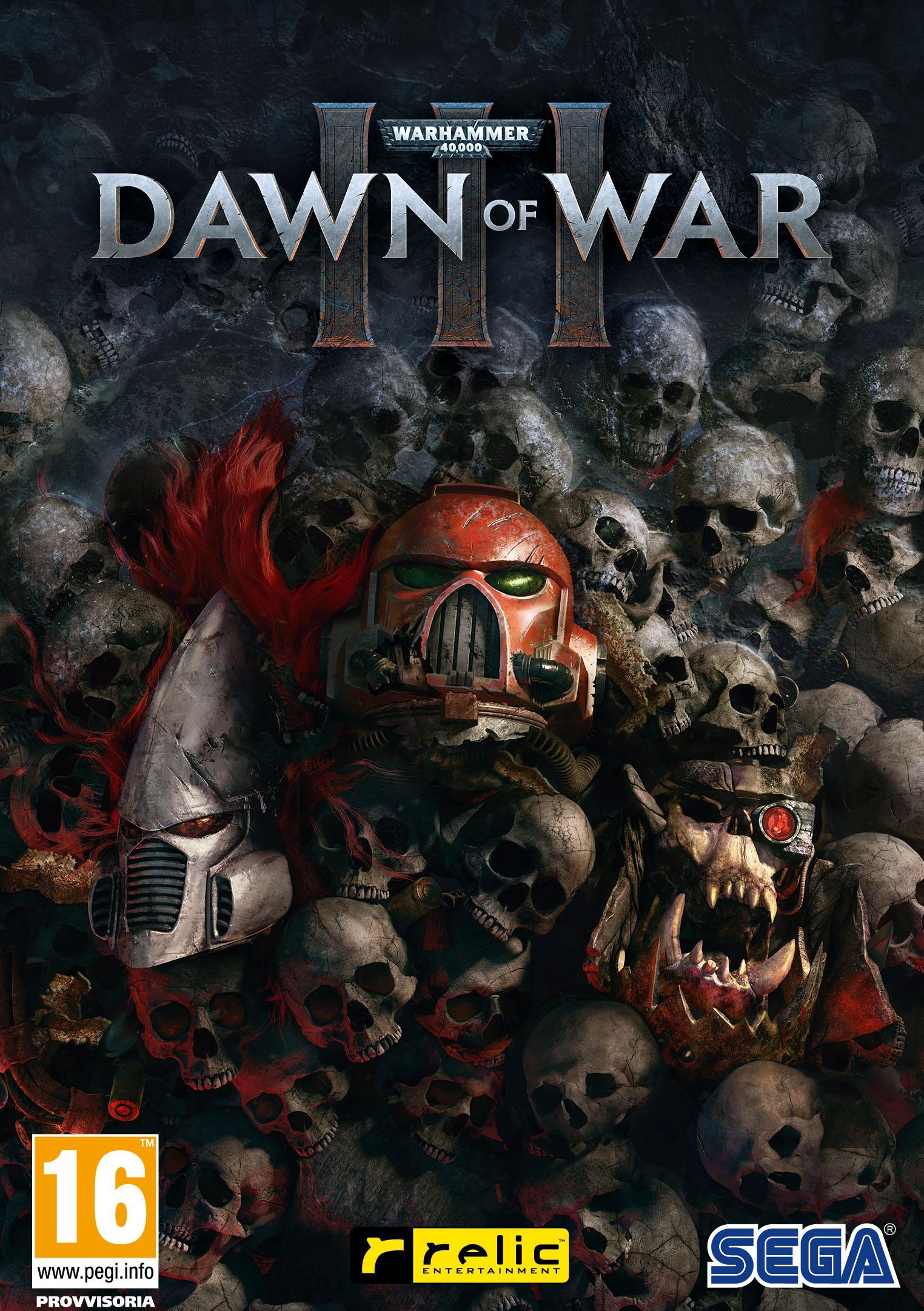 Warhammer dawn of war iii видео
