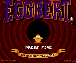 Eggbert in Eggciting Adventure