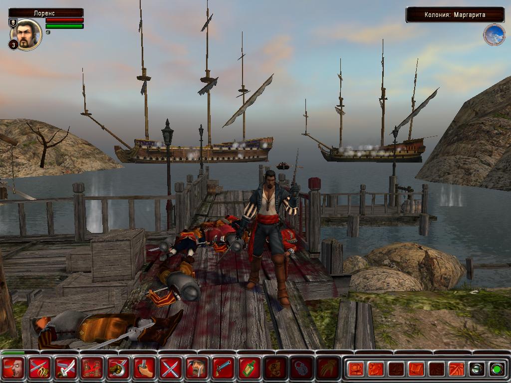 пираты карибского моря игра скачать торрент корсары 3 - фото 6