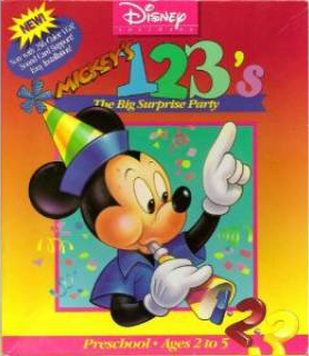 Mickey's 123: The Big Surprise Party
