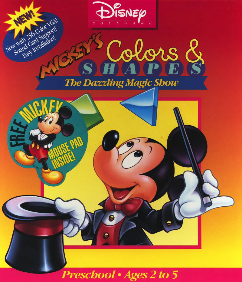 Mickey's Colors & Shapes