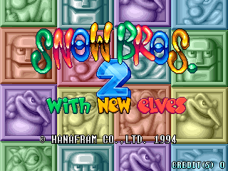 Snow Bros. 2 - With New Elves