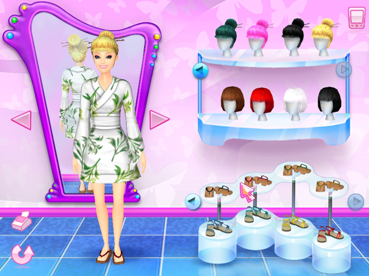 Barbie fashion pc games