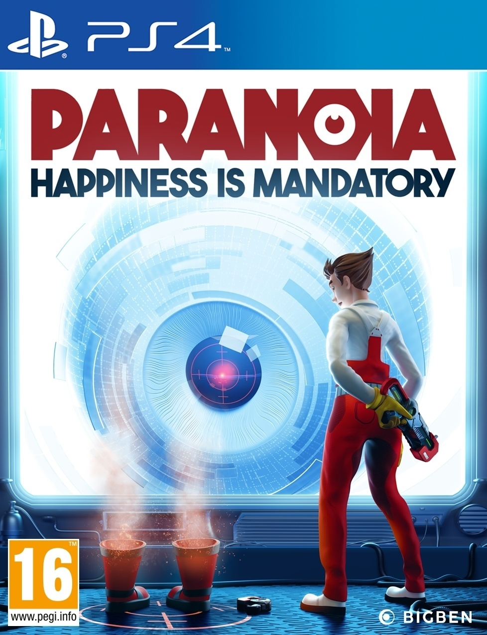 Paranoia: Happiness is Mandatory
