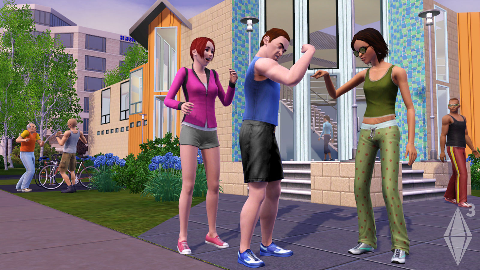 Sims3 ps3 nude add-ons nackt super slaves