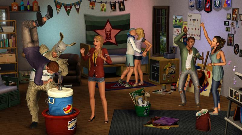 Симс 2 как сделать вечеринку 114