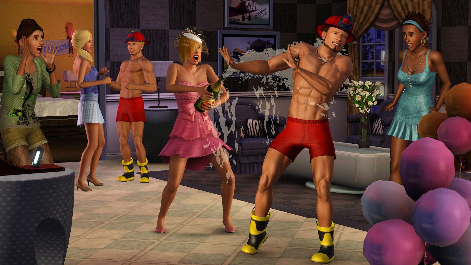 Симс 3 как сделать отличная вечеринка