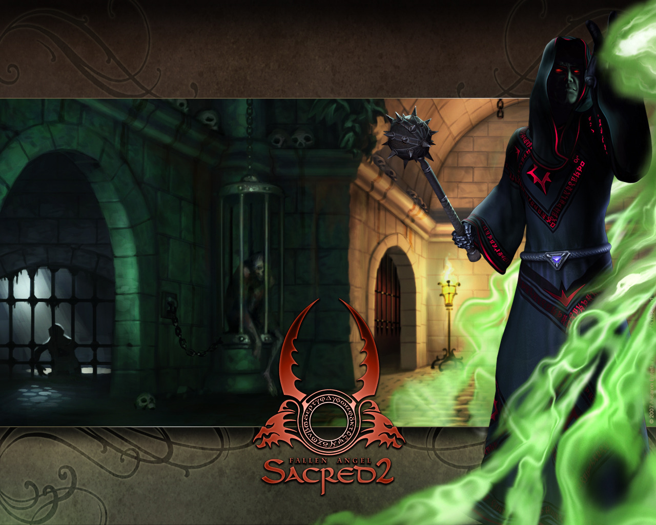 The shadow warrior is one of 6 playable characters in sacred 2: fallen angel