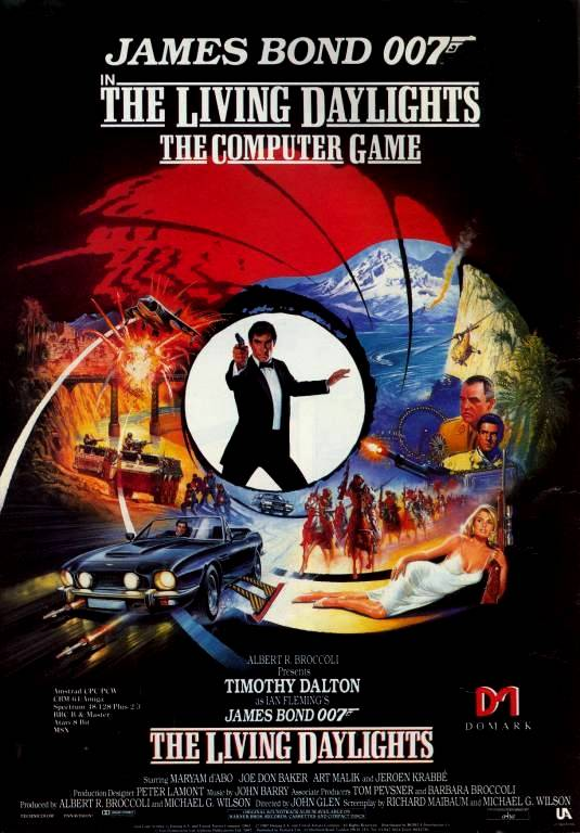 James Bond 007 in the Living Daylights: The Computer Game