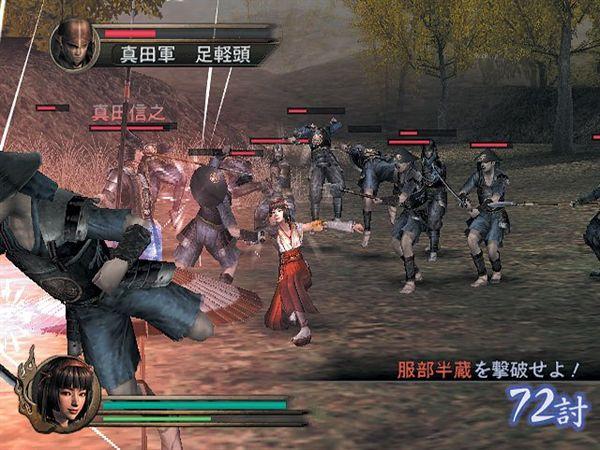 прохождение в игре samurai warriors