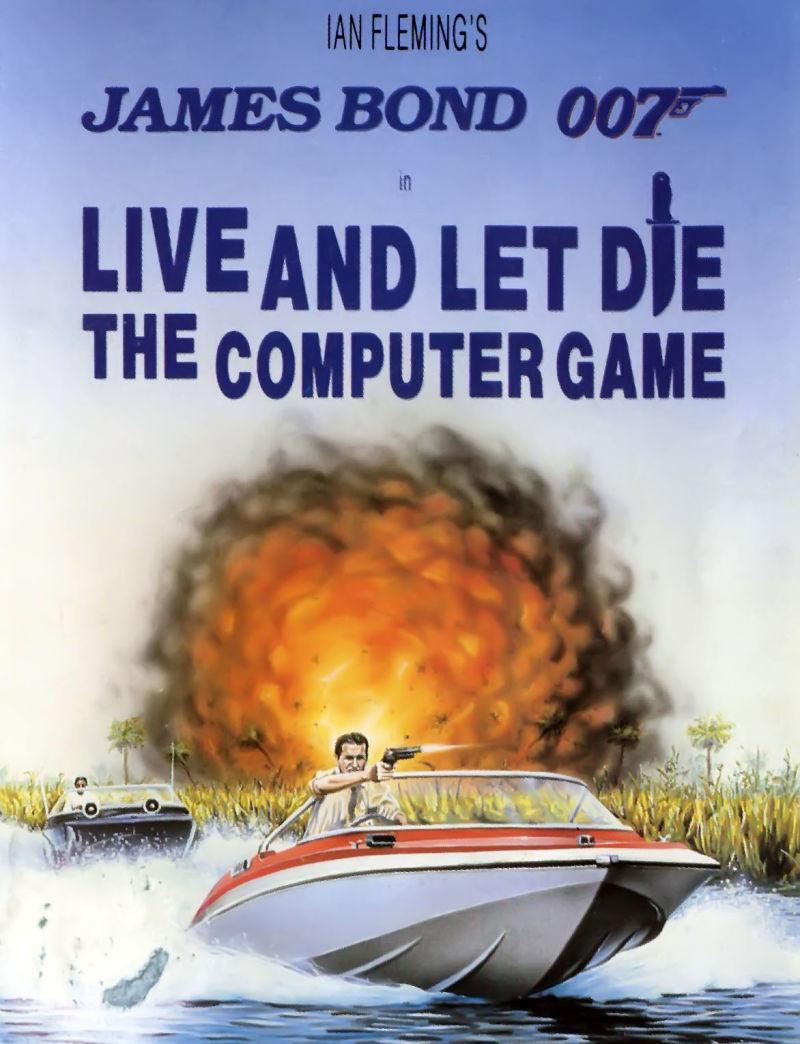 Ian Fleming's James Bond 007 in Live and Let Die: The Computer Game