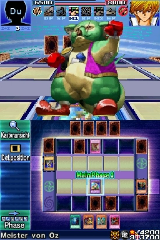The first touch-play yu-gi-oh game, nightmare troubadourallows players to navigate a city map to find duel opponents