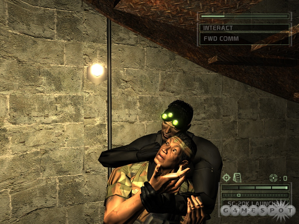 Скачать splinter cell chaos theory на пк.