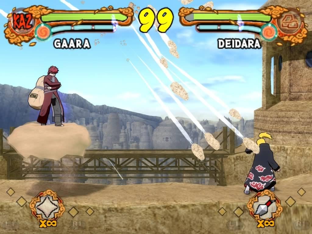 Галерея - naruto shippuuden: ultimate ninja 5 - square faction