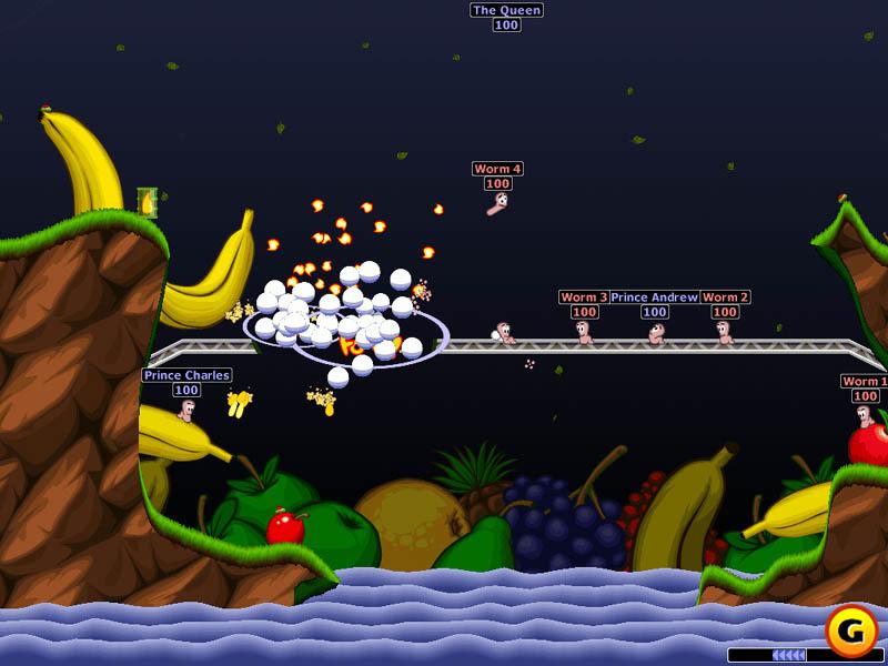 скачать игру worms world party worms
