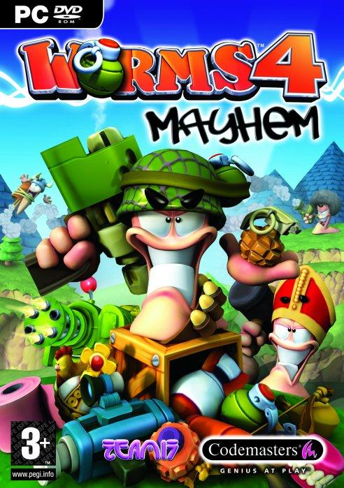 Игры на андроид червячки 4 Worms Mayhem