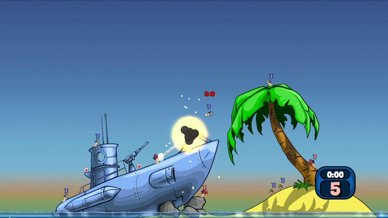 Worms: Reloaded . Прохождение Worms: Reloaded. Секреты Worms: Reloaded. - Square Faction