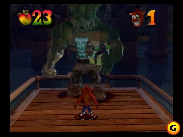 Crash Bandicoot 2 Прохождение Уровень 14