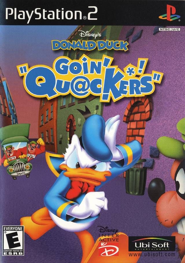 Donald Duck: Quack AttackDisney's Donald Duck Goin' Quackers
