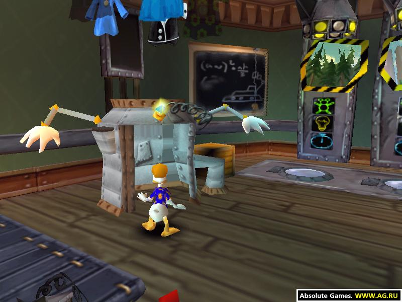 Скачать Игру Donald Duck Goin Quackers