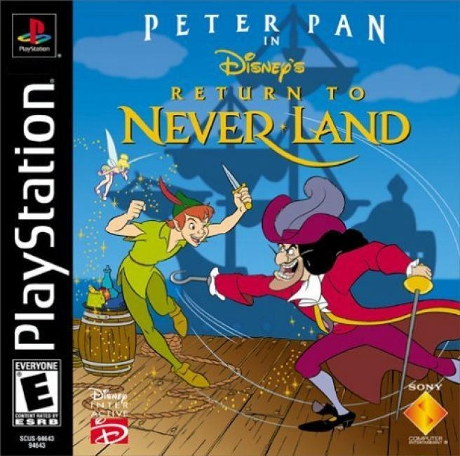 Peter Pan in Disney's Return to Neverland