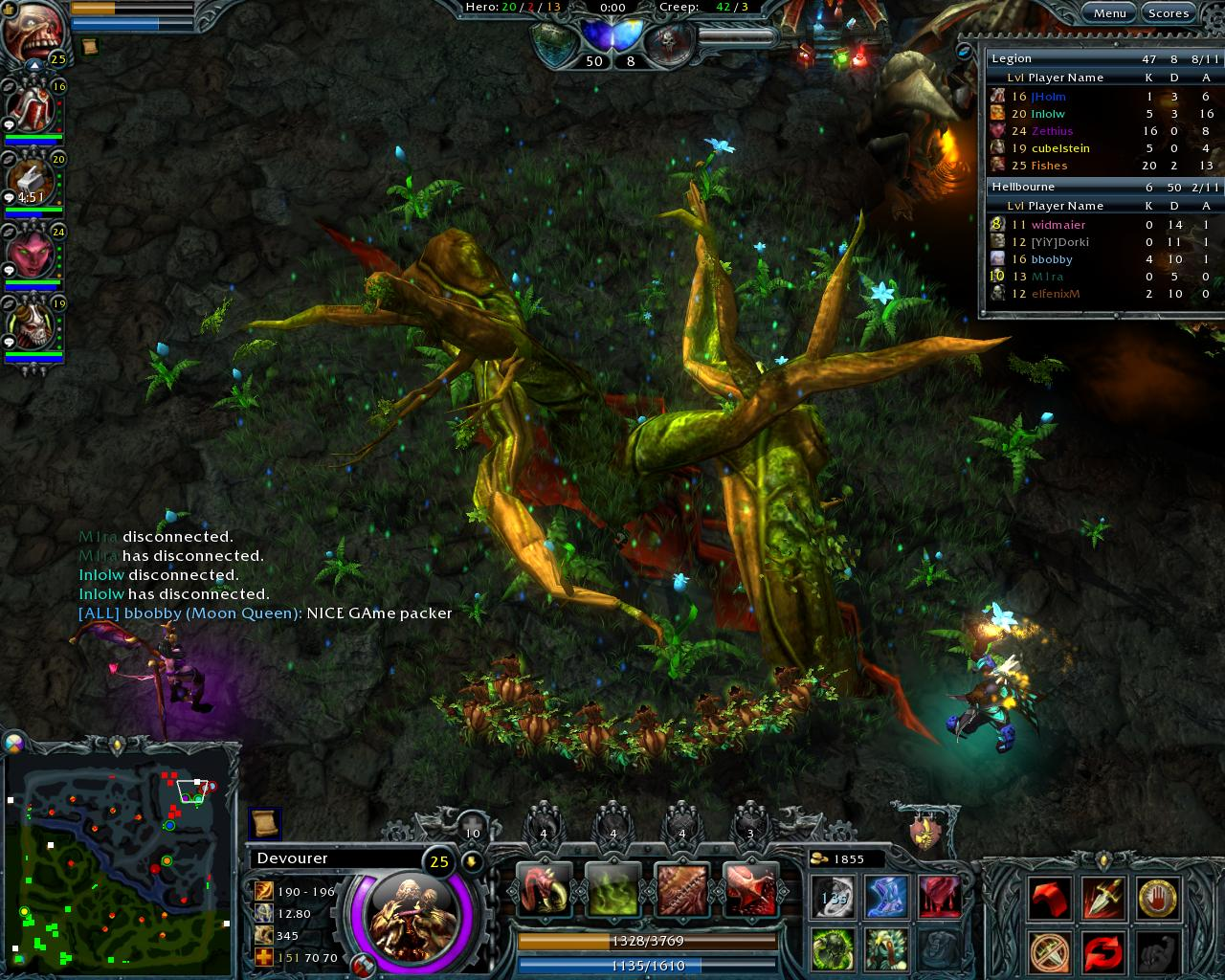 Heroes of newerth while initially competitive doesnt shine quite as picture