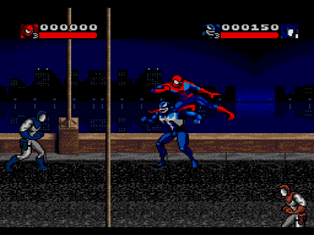 Игру Spider Man Venom Separation Anxiety