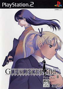 Gunslinger Girl Vol. 1, 2, 3