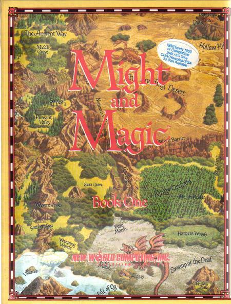 Might and Magic Book One: Secret of the Inner Sanctum