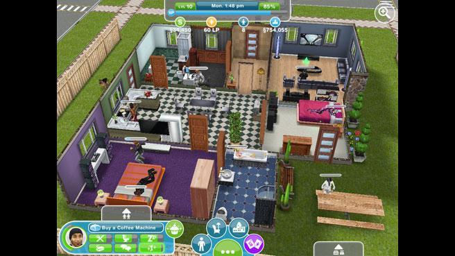 Как создать новую комнату в симс