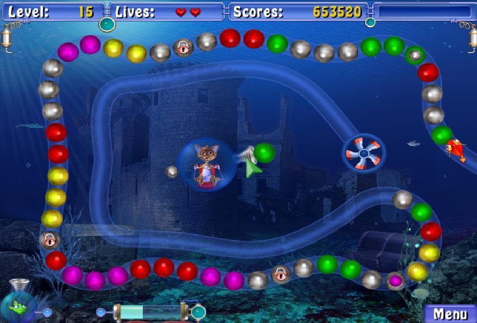 Игра Сприлл - это увлекательное приключение в подводном мире. . Погрузивши