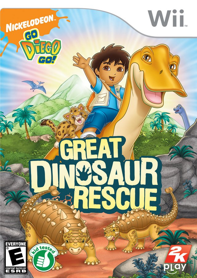 Go Diego Go! Great Dinosaur Rescue