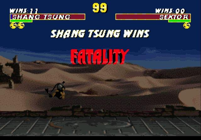 Ultimate Mortal Kombat 3   Прохождение Ultimate Mortal