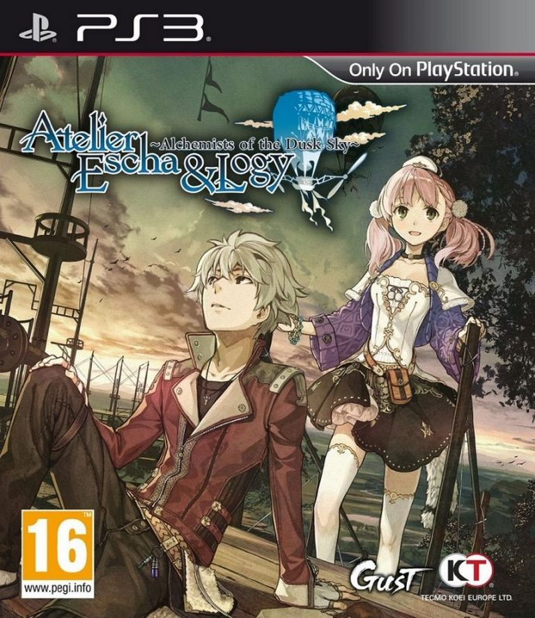 Atelier Escha & Logy: The Alchemists of the Sky and Dusk