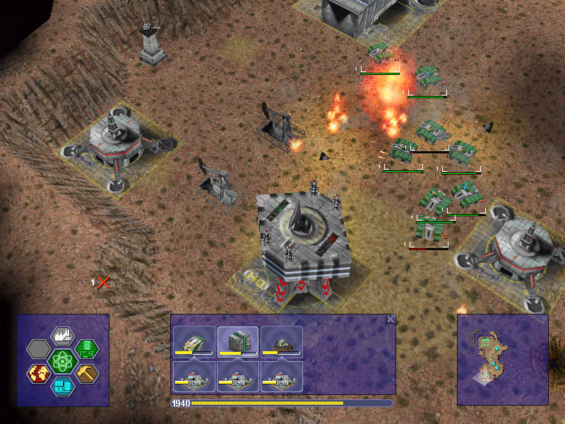 Warzone 2100 официальный сайт