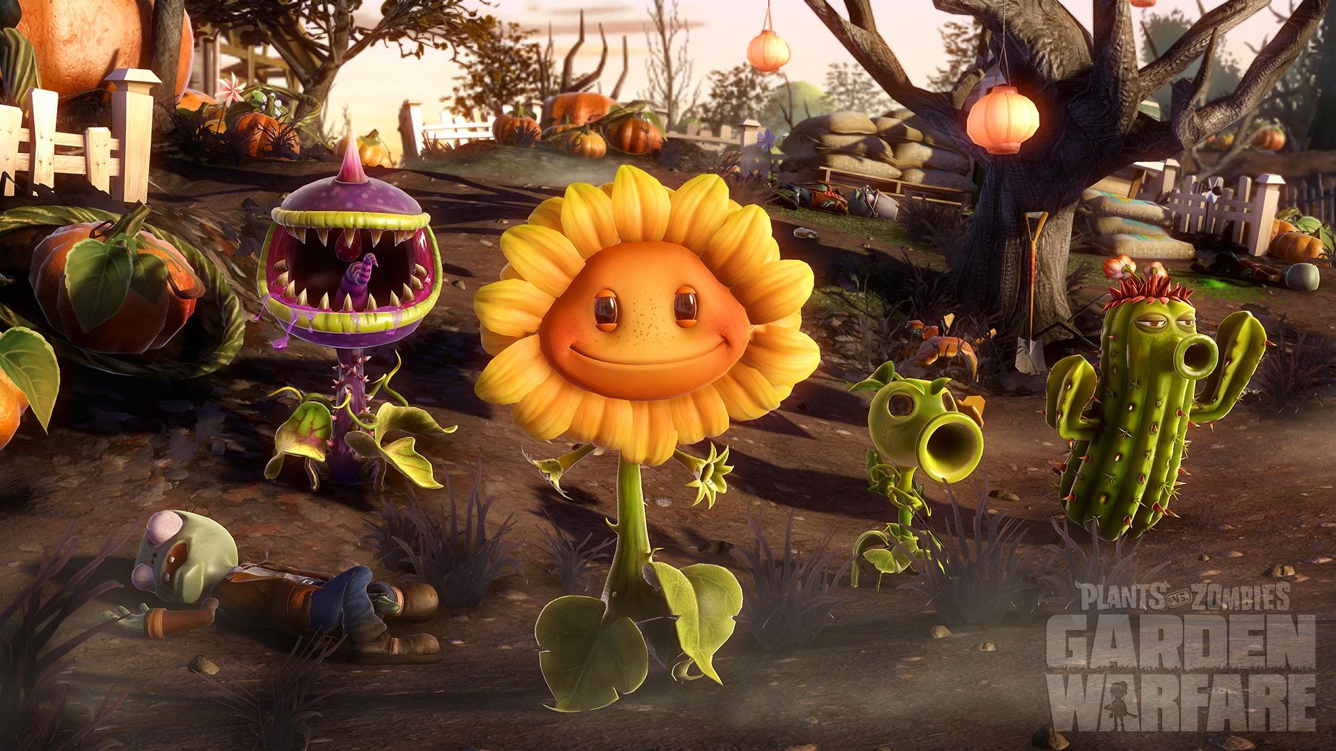 Plants vs. zombies как сделать на весь экран
