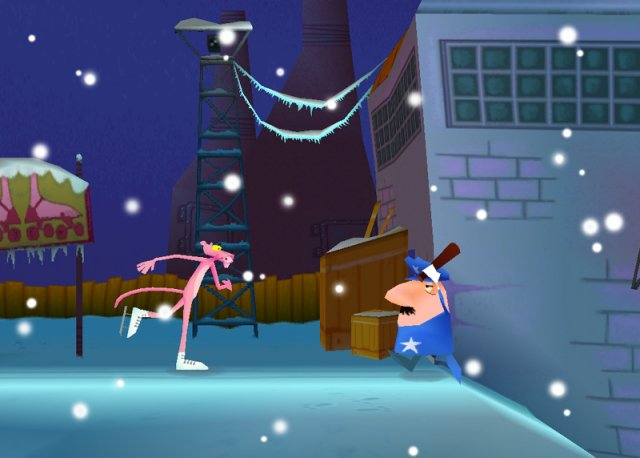 Игру Pink Panther: