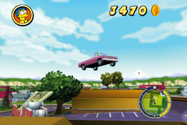 how to open cab from simpsons hit and run