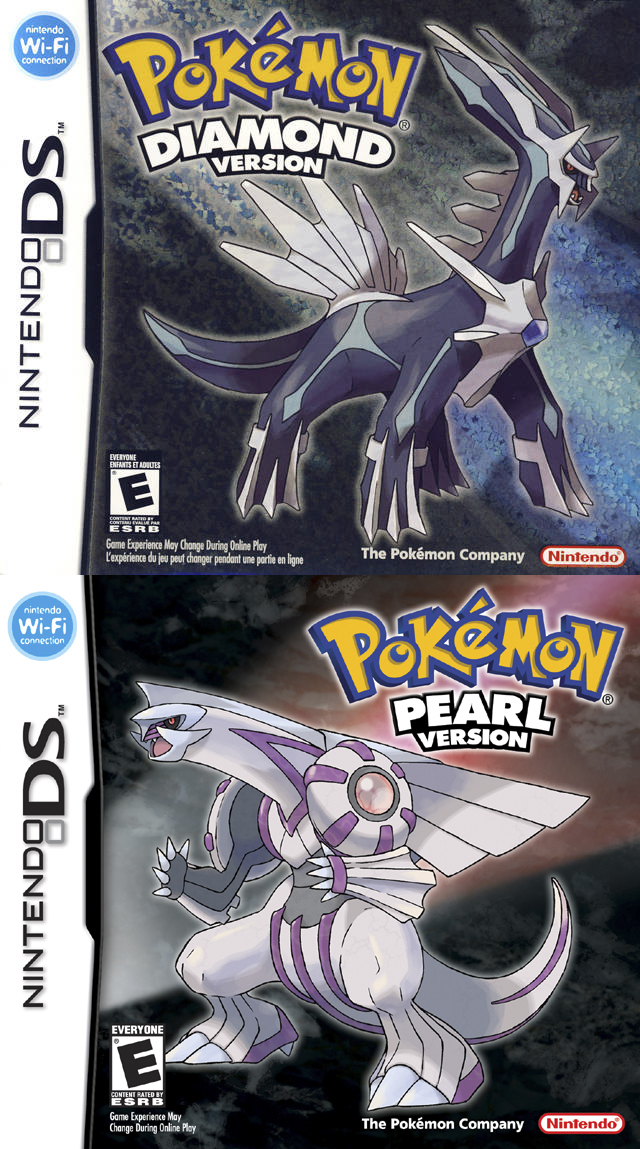 Pokemon Diamond Version/Pokemon Pearl Version