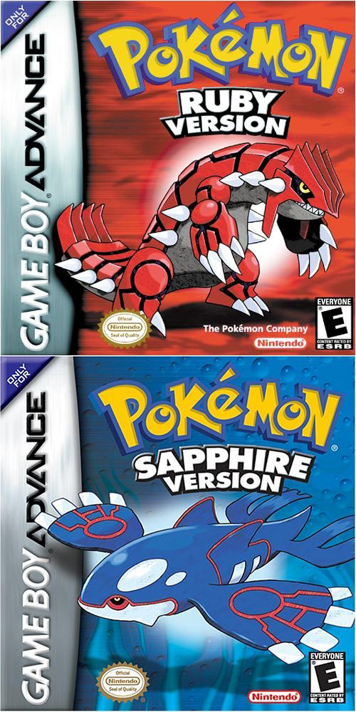 Pokemon Ruby Version/Pokemon Sapphire Version