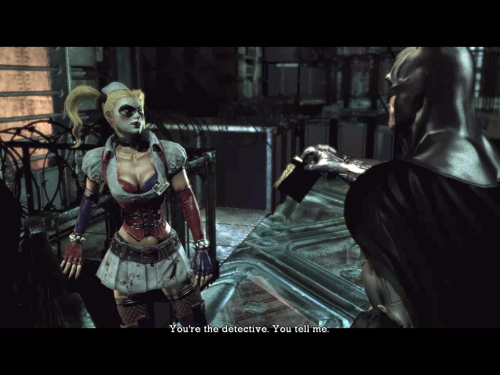 Batman arkham asylum загадки риддлера прохождение