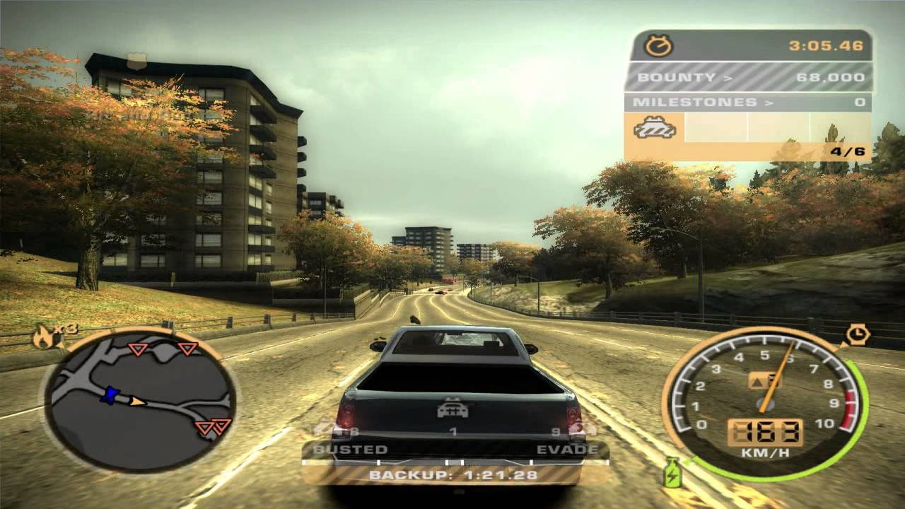need for speed most wanted 2005 вся музыка