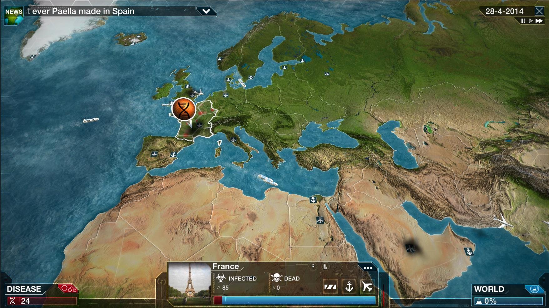 Plague inc играть онлайн на русском на компьютер - 2
